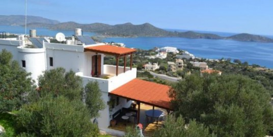 2 bedroom semi-detached villa (country house)for sale in Lasithi, Elounda, Crete,Greece