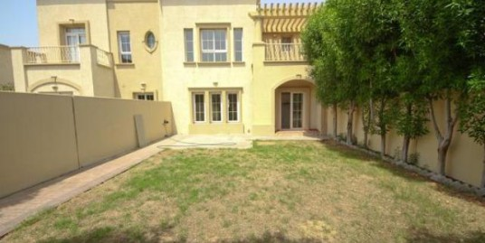 3BR+Study+Maids Room with Store, Springs Villa Type 3M with Community View,Emirates Hills Dubai, UAE